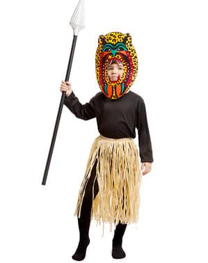 Zulu Maskeraddräkt för barn