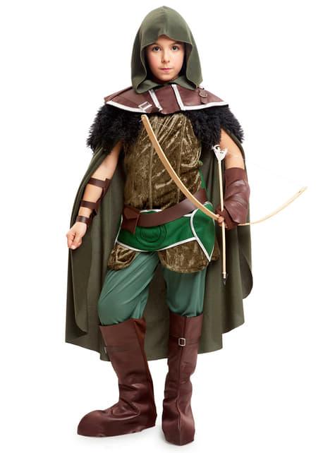 Boy's Woodland Vigilante Costume