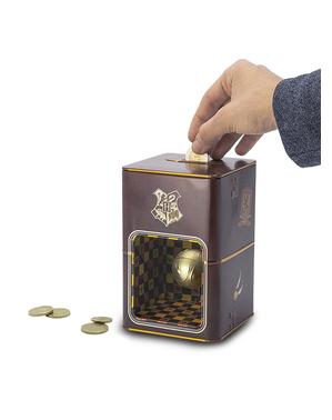 Golden zlatá strela piggybank - Harry Potter