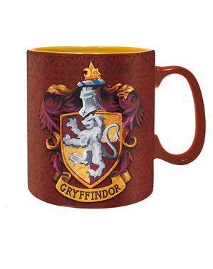 Caneca Gryffindor - Harry Potter