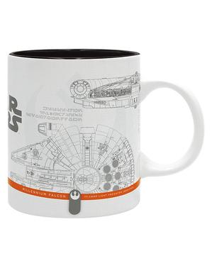 Hrnek kosmická loď Star Wars