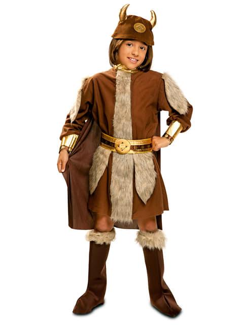 Chlapecký kostým neohrožený Viking