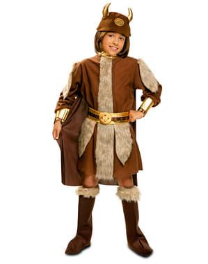 Costum de viking curajos pentru băiat