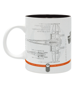 Taza Star Wars naves espaciales