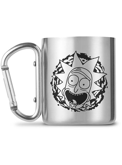 Taza Rick y Morty de acero inoxidable