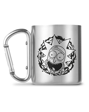Taza Rick y Morty de acero inoxidable