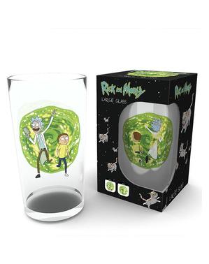 Bicchiere Rick and Morty di vetro