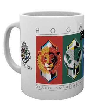 Tazza Case di Hogwarts - Harry Potter