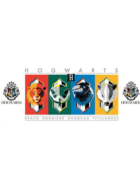 Taza Casas Hogwarts - Harry Potter