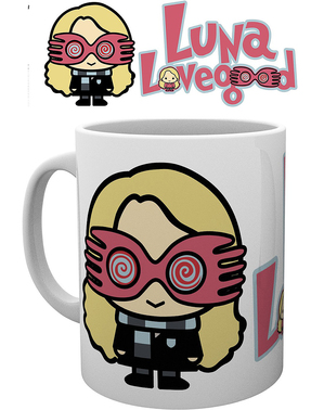 Caneca Luna Lovegood - Harry Potter