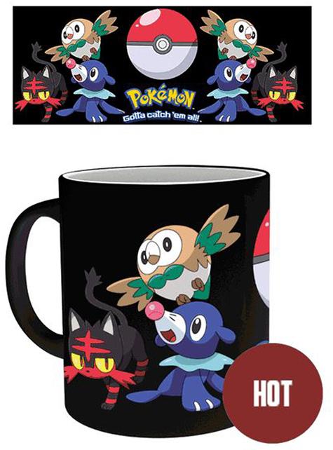Mug Pokemon change de couleur