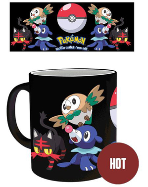 Taza Pokemon cambia color
