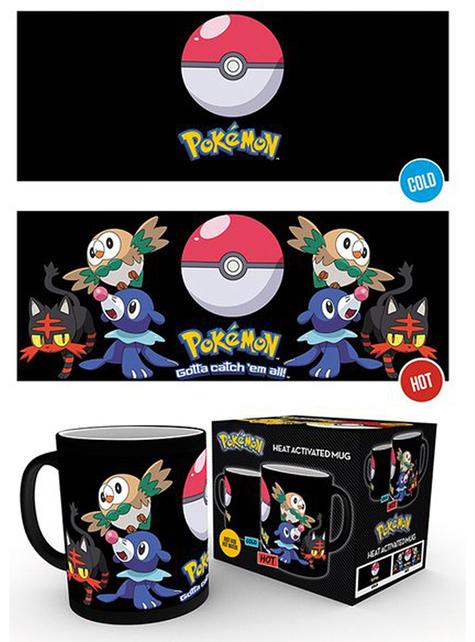 Taza Pokemon cambia color