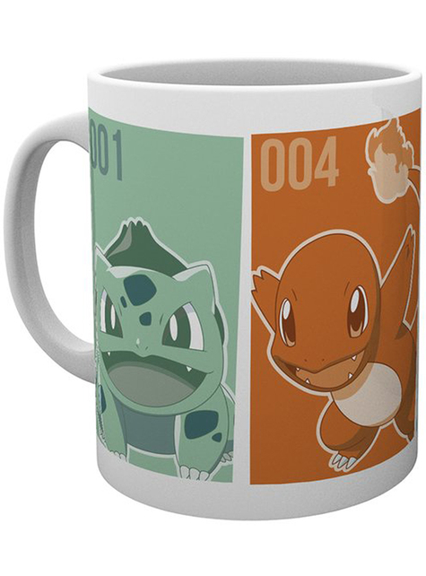 Taza Pokemon personajes