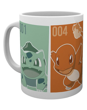 Caneca Pokemon personagens