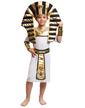 Fato de rei do Nilo para menino