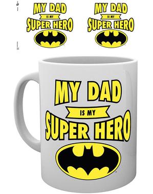 Batman Κούπα «Ο μπαμπάς μου είναι superhero μου» - DC Comics