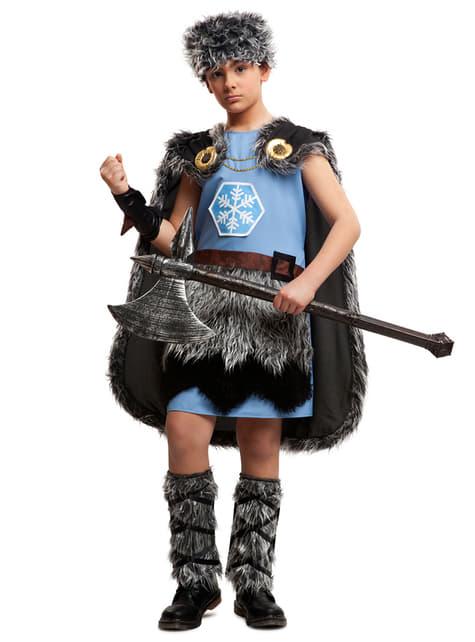 Fato de viking gélido para menino