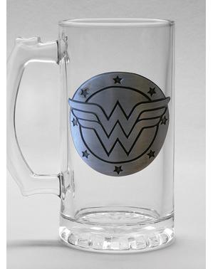Wonder Woman пинта стъкло