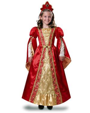 Disfraz renacentista para niña