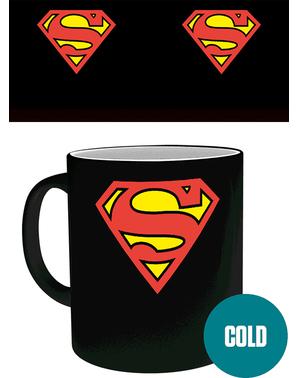 Caneca Super-Homem muda cor