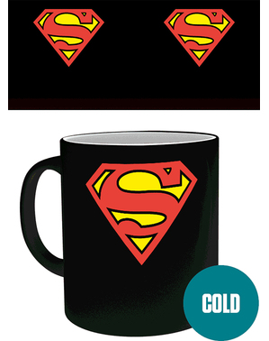 Mug Superman change de couleur