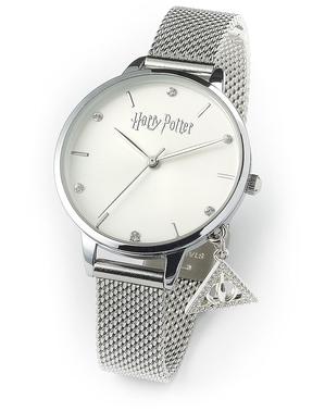 Zilver Harry Potter horloge