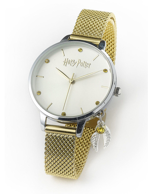 Reloj de Harry Potter dorado