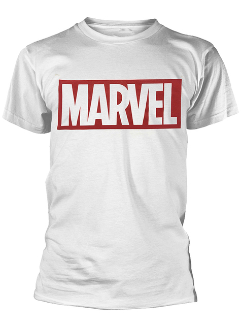 Marvel T-Shirt in Wit