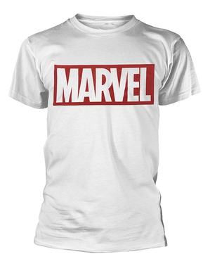 Marvel тениска в бяло