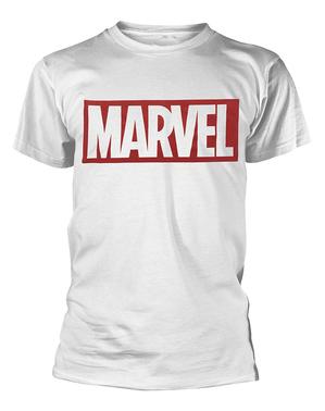 מארוול בחולצת טריקו ב White