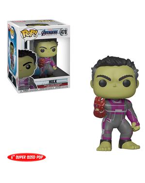 Funko POP! Hulk con guantelete extra grande - Vengadores: Endgame