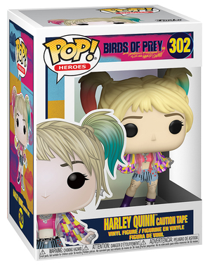 Funko POP! Harley Quinn (Caution Tape) - Birds of Prey