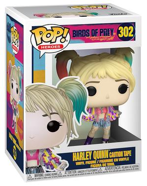 Funko POP! Харли Куин (Внимание лента) - на хищните птици