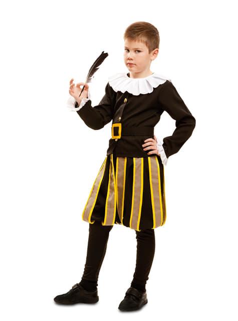 Boy's Cervantes the Writer Costume