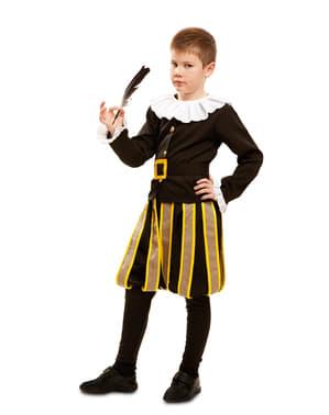 Costume da scrittore Cervantes per bambino