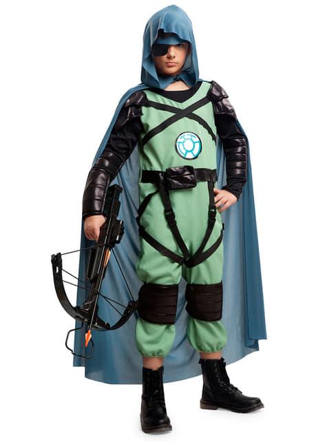 Bogenschütze der Zukaunft Kostüm für Jungen