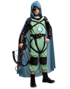 Chlapecký kostým lučištník z budoucnosti