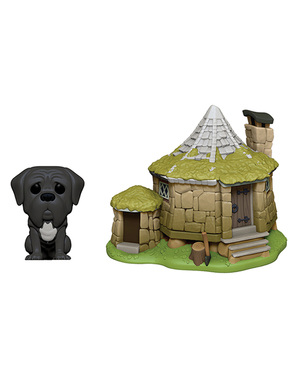 Funko POP! Cabaña de Hagrid y Fang - Harry Potter