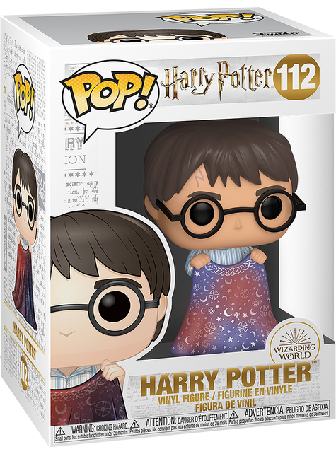 Funko POP! Harry Potter con la capa de invisibilidad