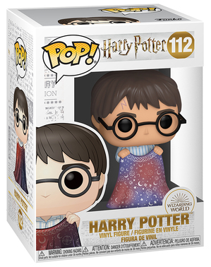 Funko POP! Harry Potter with Invisibility Cloak