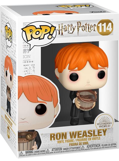 Funko POP! Ron con cubo de babosas - Harry Potter