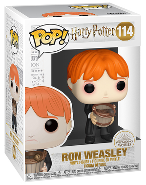 Funko POP! Ron con cubo de babosas - Harry Potter