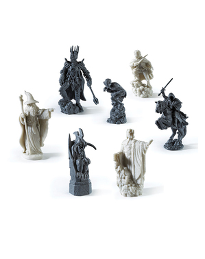 A Lord of the Rings Chess Set