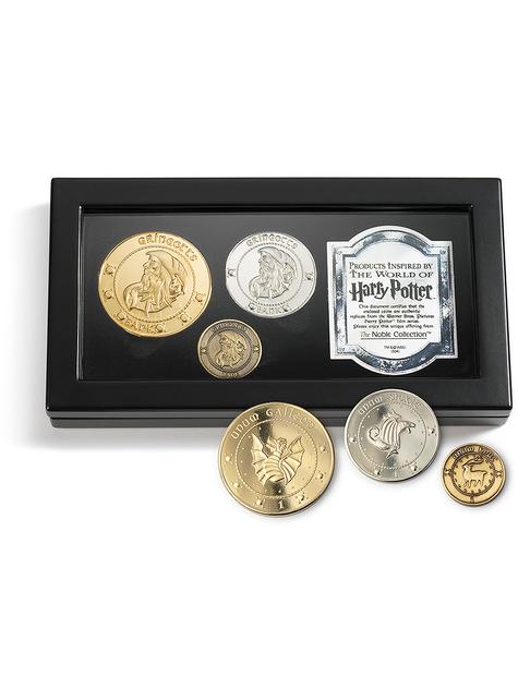 Monedas de Harry Potter Gringotts