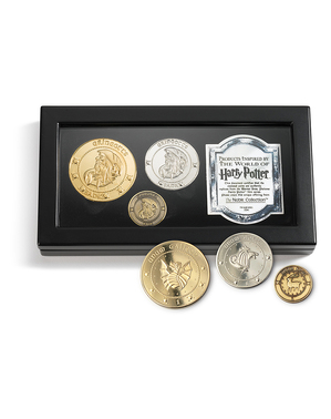 Monete Harry Potter Banca dei Maghi Gringott