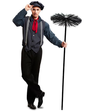 Man's Movie Chimney Sweep Costume