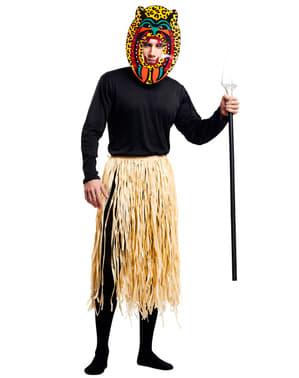 Pánský kostým válečník Zulu