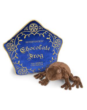 Coussin et peluche Harry Potter Grenouille en chocolat