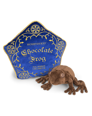 Polštářek a plyšová hračka Harry Potter Čokoládová žába